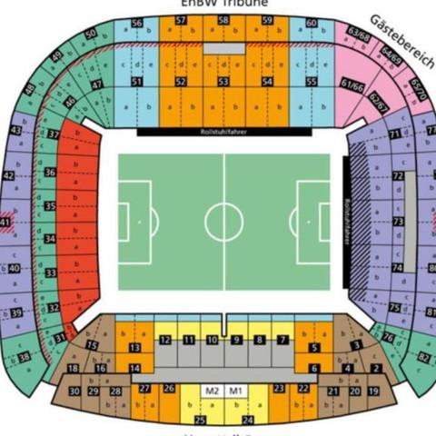 Stuttgart Stadion  - (Fußball, Ticket, Stuttgart)