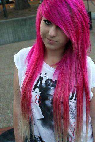 pink - (Frisur, Klamotten, Style)