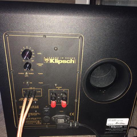 Hier der KSW 10 - (Musik, Audio, Boxen)