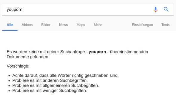 Suchbegriff - (Website, blockierung)