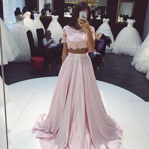 Zweiteiler Abendkleid - (Computer, Internet, instagram)