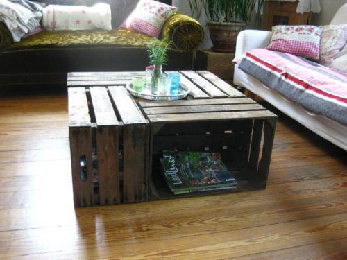 regal aus holzkisten die besten 17 ideen zu obstkisten. Black Bedroom Furniture Sets. Home Design Ideas