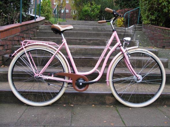 altmodisches fahrrad