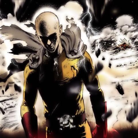 Saitama (one punch man) - (Anime, One Punch Man, OP-Protagonist)