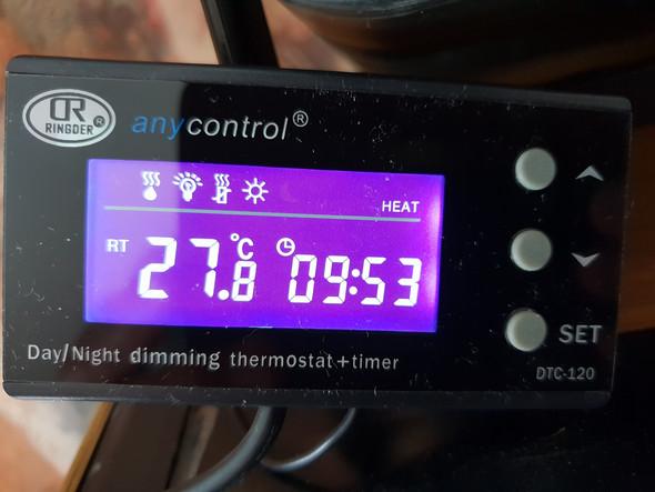 - (Bedienungsanleitung, Thermostat)