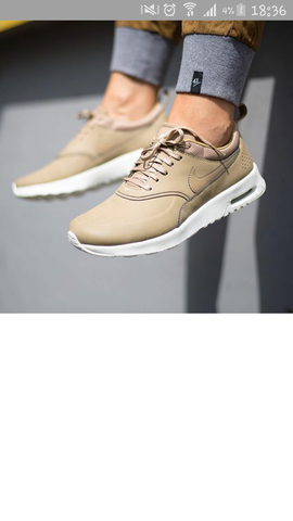 nike air max thea beige footlocker