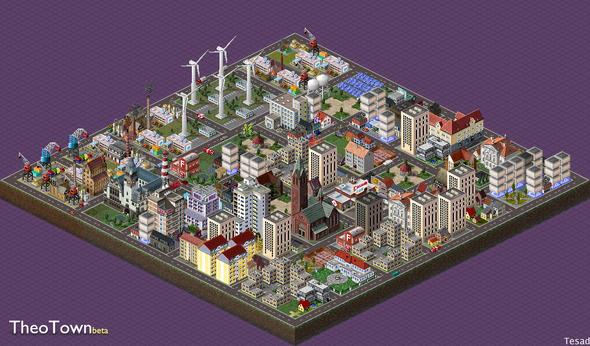 Theotown Stadt ! - (Computerspiele, PC-Spiele, aufbauspiel)