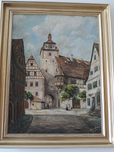 Weißer Turm mit Judentanzhaus - (Literatur, Malerei)