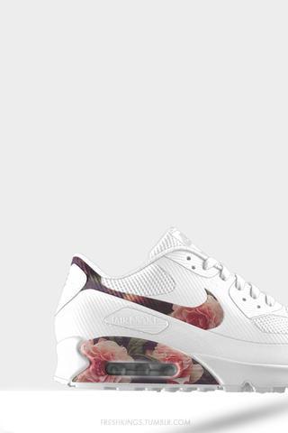 Nike Air Max Rosenmuster