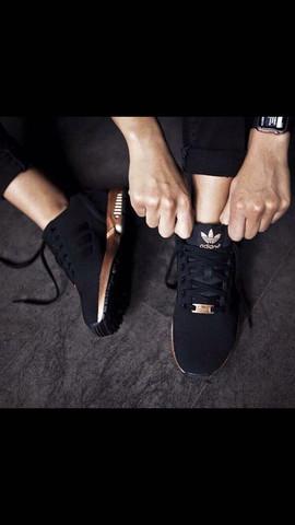 Adidas schwarz gold - (Schuhe, adidas)