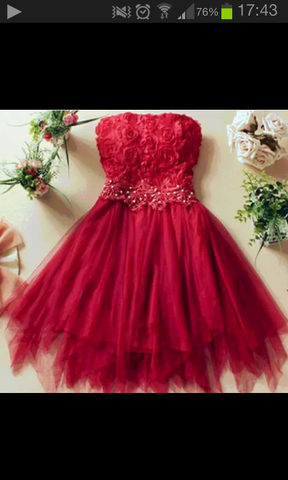 Suche dieses Kleid :-) - (Kleid, rot)