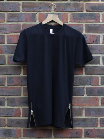 .. - (schwarz, T-Shirt, Gold)