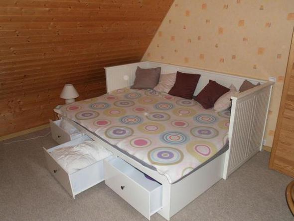 Sie Sieht Das Ikea Hemnes Bett Aus :)   (Möbel, Bett, IKEA
