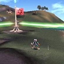 Das Bild hab ich noch vom Spiel das ist das Alien auf der Erde  - (Spiele, Playstation, Aliens)
