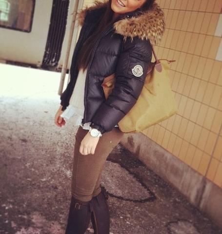 Moncler Winter Jacke Damen