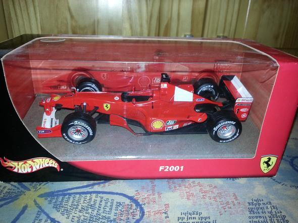 Frontansicht - (Spielzeug, Formel 1, hot wheels)