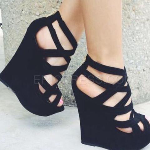 Pumps - (Schuhe, Fashion, Keilabsatz)