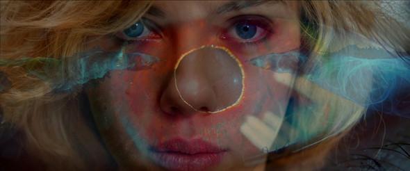 Scarlett Johannson in Lucy (Photoshop von mir) - (Film, Gehirn, Liste)