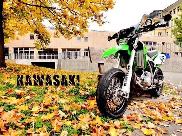 Mein Bike Kawasaki KLX 250 - (Auto, Motorrad, Style)