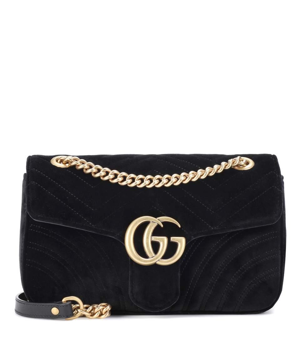 742471b29922b Suche Gucci Marmont Samt small  (Tasche)