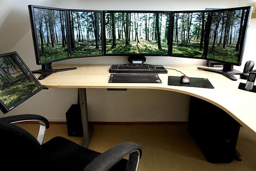 Gamer Schreibtisch Gaming Tisch Für Streamering Gesucht