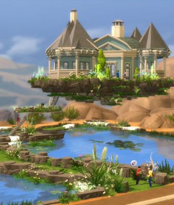 Suche haus in sims 4 spiele for Modernes haus sims 4