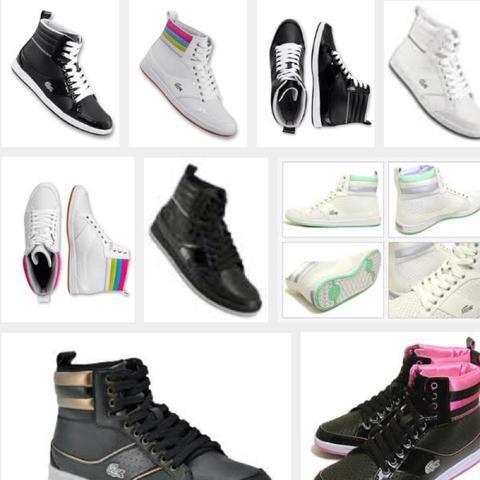 Lacoste sonatta Damen High Top sneakers - (Mode, kaufen, Schuhe)