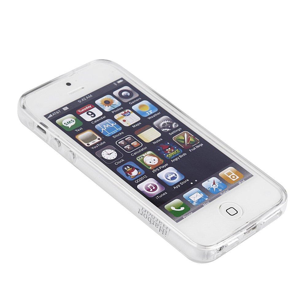 suche iphone 5s h lle transparent rundum schutz ultra d nn und biegsam aus silikon handy. Black Bedroom Furniture Sets. Home Design Ideas