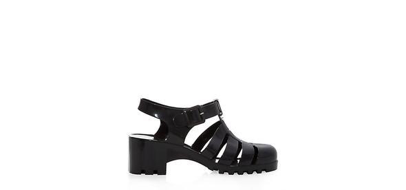Jelly Sandals mit Absatz - (Mode, kaufen, Schuhe)