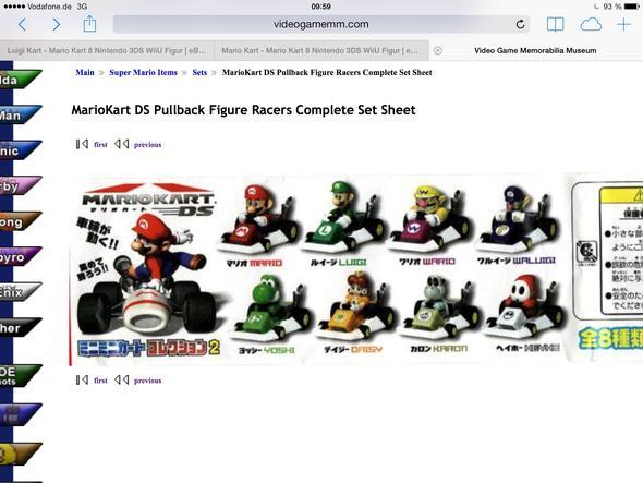 Mario Kart Figuren - (Figur, Mario Kart, Daisy)