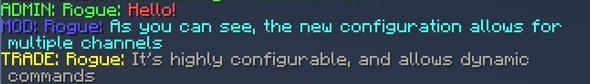 Minecraft Chat - (Minecraft, Chat, Plugin)
