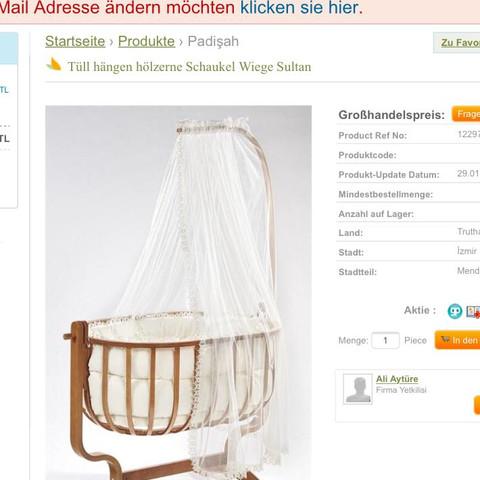Und diese Seite ist auch für Großhandel  - (Türkei, Babyschaukel, Babywiege)