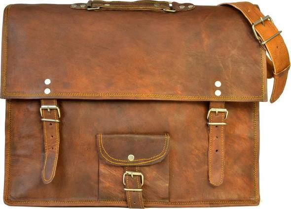 Beispieltasche von Gusti - (Schule, Ledertasche)