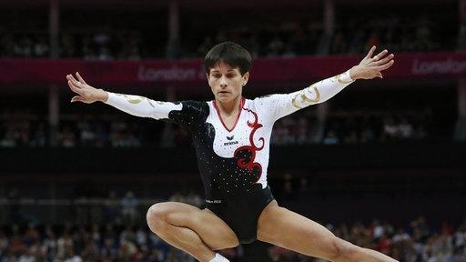Oxana Chusovitina bei Olympia 2012 - (Deutschland, turnen, Olympia)