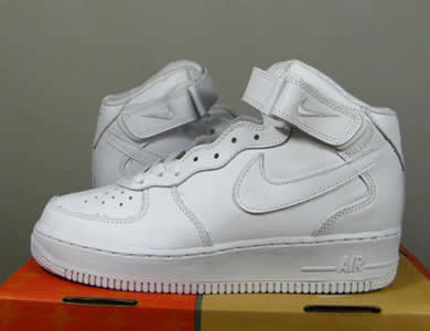 Nike Air Force One High Weiß