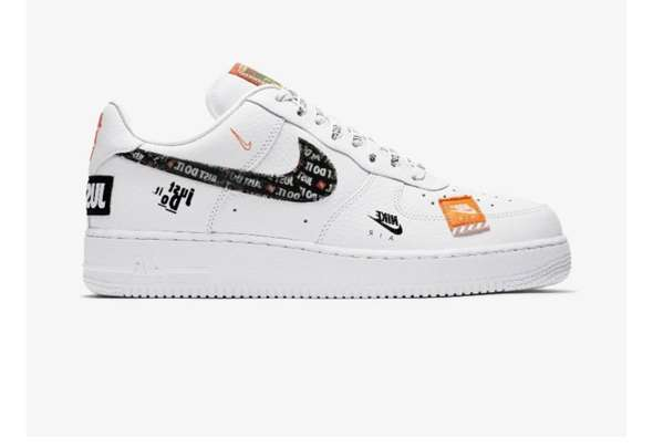 Nike Air Force 1 Low Just Do It Pack White (GS)