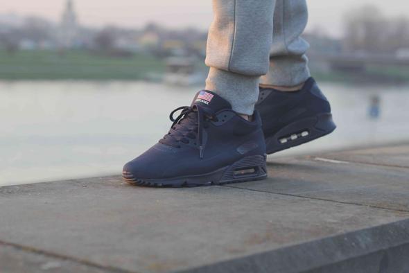 Nike Air Max 90 Hyperfuse Schwarz