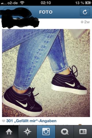 Dies sind die Schuhe die ich suche - (Schuhe, Nike, schwarz)
