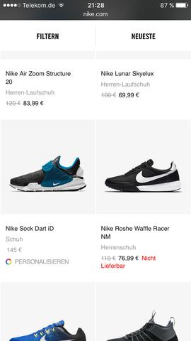 Schuh rechts  - (Schuhe, Nike)