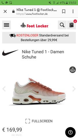 Suche Nike Tn?