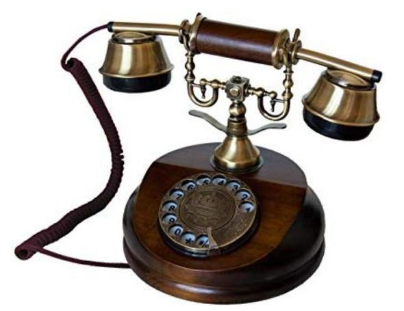 Suche Nostalgiesches Wählscheibentelefon mit DECT?