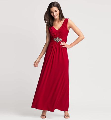 Suche Rat Wegen Roten Kleid Mode Abendkleid