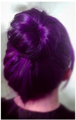 Suche Schne Lila Tnung Haare Beauty Haarfarbe