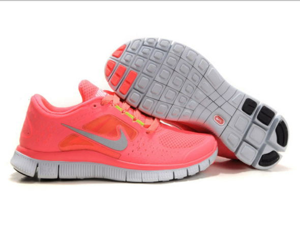 <3 NIKE Free Run 3 Pink - (Liebe, Sport, Schuhe)
