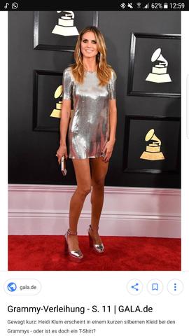 Suche so ein ähnliches Kleid wie von Heidi Klum? (Mode, Kurz, schlicht)