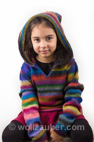 Suche Strickanleitung für Kinderpullover aus Mille Colory Baby von ...