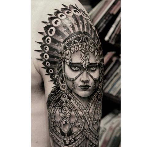 suche tattoo hintergrund passend zum indianer rosen feder ink. Black Bedroom Furniture Sets. Home Design Ideas
