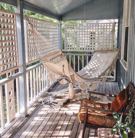Suche Weisse Bohomian Hangematte Garten Style Mobel