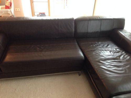 suchen eine couch die mit der ikea kramfors in dunkelbraunen leder vergleichbar ist wohnen. Black Bedroom Furniture Sets. Home Design Ideas
