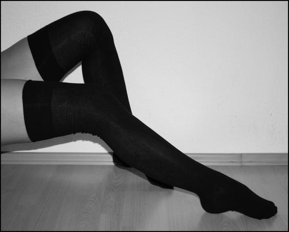 Overknee Socken - (Mädchen, Frauen, Klamotten)